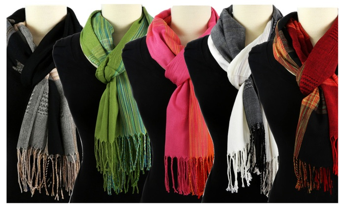 Thai Lightweight Shawl - Several Colors