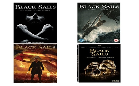Black Sails The Complete Series All Seasons 1-4 Dvd Box Set 12 Discs 7745ec69-5b1e-4890-8259-73b2cf12bcd4