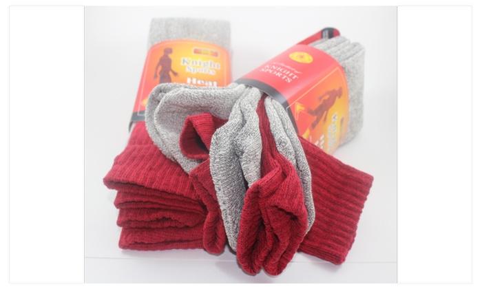 New 12 Pairs Mens Heavy Duty Warm Work Wool Socks Crew Thermal Cotton