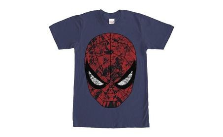 Marvel Men's Spider-Man Mask T-Shirt 639c3179-1738-45cc-b0e0-350c8253ca84