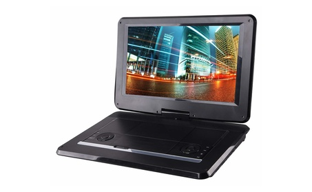 Sylvania SDVD1566 15.6 in. Swivel Screen Portable DVD & Media Player