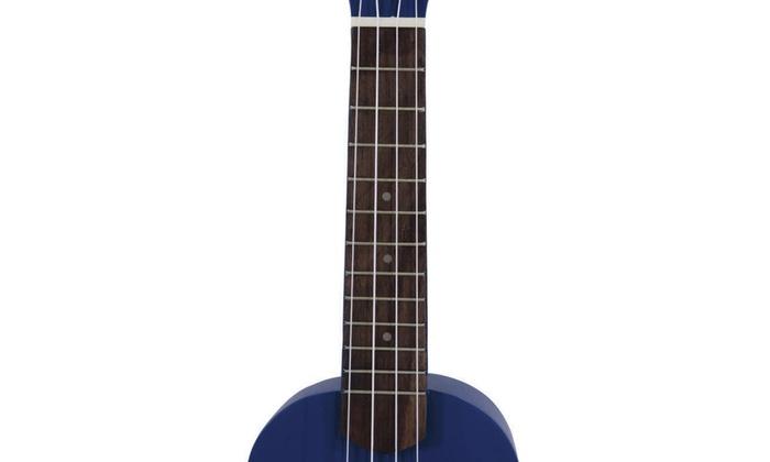 """Glarry UK101 21/"""" Pure Color Rosewood Fingerboard Basswood Soprano Ukulele w// Bag"""