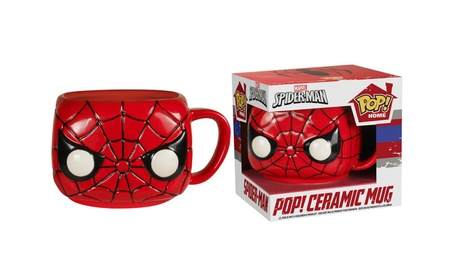 Funko Home Decor Marvel Spider-Man Pop! Home 12 Oz. Mug d60a5098-d02a-4b29-bd2a-e10c5925a7e0