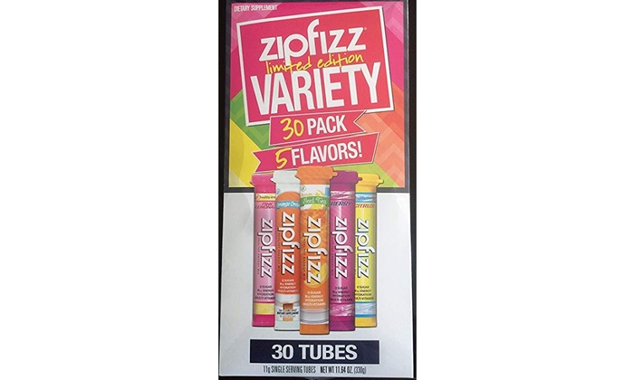 Zipfizz Limited Edition Variety 30 Pack