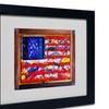 Roderick Stevens 'American Paint' Matted Black Framed Art