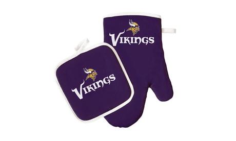 Minnesota Vikings Oven Mitt and Pot Holder photo