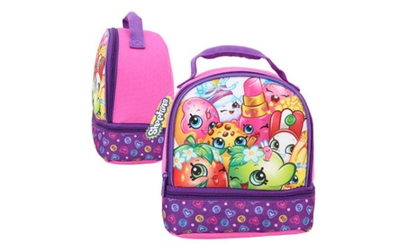 Shopkins Dual Compartment Lunch Bag b5f33345-3d3b-4e2c-9837-9047d50b9a0e