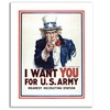 James Montgomery Flagg 'I Want You' Canvas Rolled Art