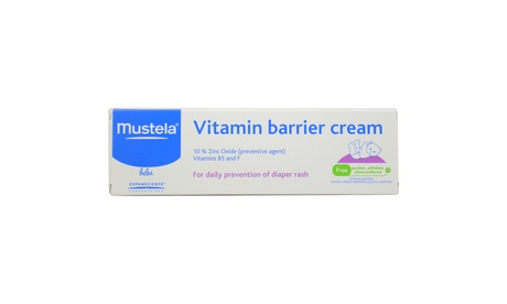 Vitamin Barrier Cream by Mustela for Kids - 3.88 oz Cream