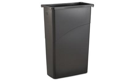 Rubbermaid comm prod slim jim waste receptacle for Slim jim air conditioner