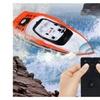 27MHz 4CH RC Racing Boat Remote Control Wireless Speedboat - Orange