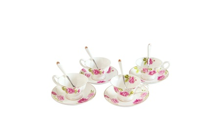 Porcelain Tea Cup and Saucer Coffee Cup Set TC-ZMFF 4a8fdcf1-417e-4742-8dde-a9334809ce72