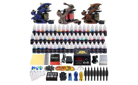 Details about Complete Tattoo Kit 3 Tattoo Machine Guns Set 54 Ink b42c9082-712c-40c4-b9fe-eb19b6edfe15