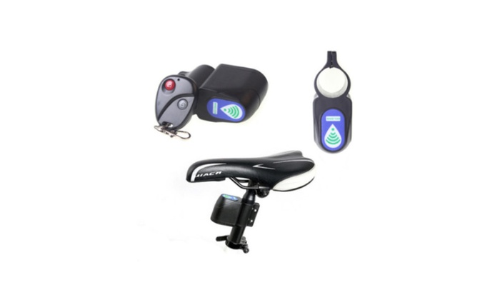 New Bicycle Security Lock Vibration Alarm Anti-theft Wireless