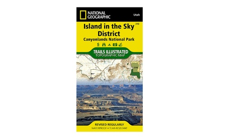 National Geographic TI00000310 Map Of Canyonlands - Utah 5e85ae6d-16b3-47e9-865f-dfd99e8c816d