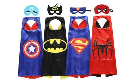 Superhero or Princess CAPE & MASK SET Kids Children's Everyday Costume 1c9642a2-b922-4951-8ae3-08f1a812d27f