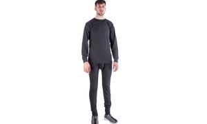 Men's Heat Retention Warm Thermal Long John Underwear Set