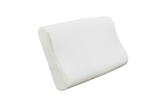 Comfortable Sleep Innovations Contour Memory Foam Pillow Hypoallergenic 3 Sizes