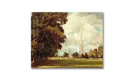 John Constable 'Salisbury Cathedral' Canvas Art 99f468b4-d972-4de6-bd7d-1a78eece2294