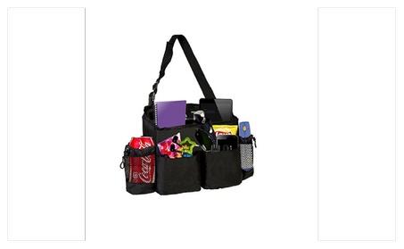 Zone Tech Driver Seat Swinging Storage Console Organizer fc583227-f059-45e5-80bd-7a841a12b926