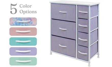 Sorbus Dresser w/ 7 Drawers - Furniture Storage Chest for Kids / Teen Bedroom