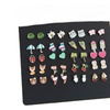 Kids Heart Animal Ladybug Ice cream Bear 20 pairs Earrings
