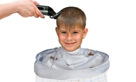 Premium No-Mess Protective Haircut Barber Apron Hair Stylist Apron a4d39c05-27ac-46e8-8f17-8d5e2711ab91