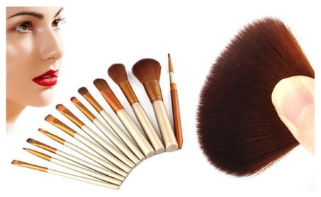 Luxurious 12 Piece Makeup Brush Set b45727b7-9ca2-4391-954f-2d8115f6dddc