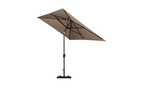 Abba Patio 9.8-Ft Rectangular Market Outdoor Table Patio Umbrella af767beb-4e11-4288-810d-e2d4ebfab381