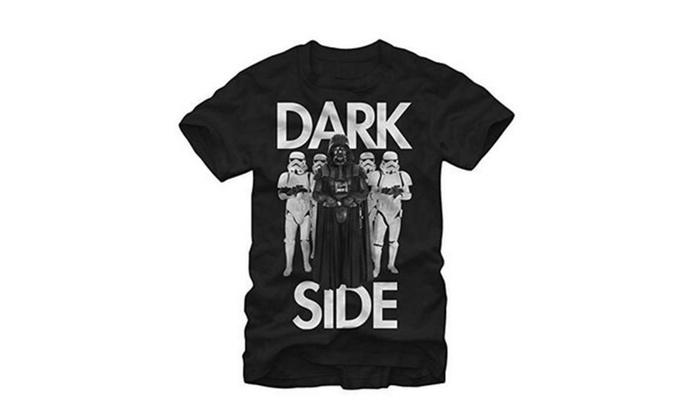Star Wars Darth Vader Dark Side Entourage Mens Graphic T Shirt