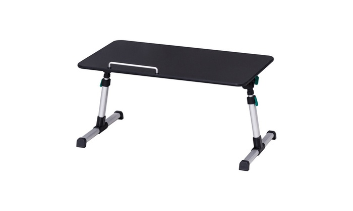 Charmant Portable Height Adjustable Laptop Bed Tray Table Standing Tray ...