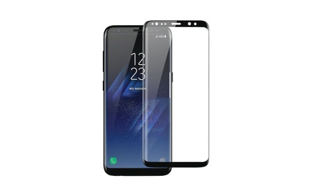 Tempered Curved Glass Screen Protector for Samsung Galaxy S8 1421b81e-1c26-458d-a571-346a57eebe06