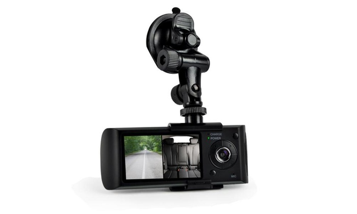 Up To 68% Off on Dual Camera Dash Cam System, ... | Groupon Goods Google Map Cam on