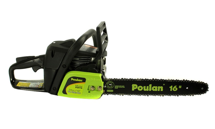 "Poulan 16 "" Bar Gas Chain Saw (Manufacturer Refurbished)"