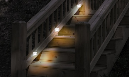Motion-Activated Battery-Powered Indoor and Outdoor LED Night Lights (6-Pack)