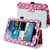 Insten Leather Case Stand For Samsung Galaxy Tab 2 7 Pink White Polka