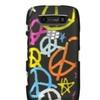 Insten Hard Rubber Cover Case For BlackBerry Torch 9850/9860 Black/Orange