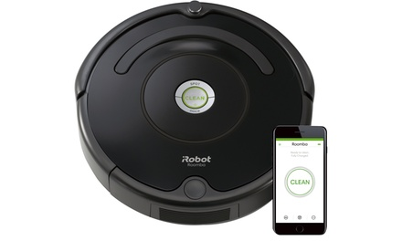 iRobot Roomba R675 Wi-Fi Connected Robotic Vacuum Cleaner Was: $349.99 Now: $299.