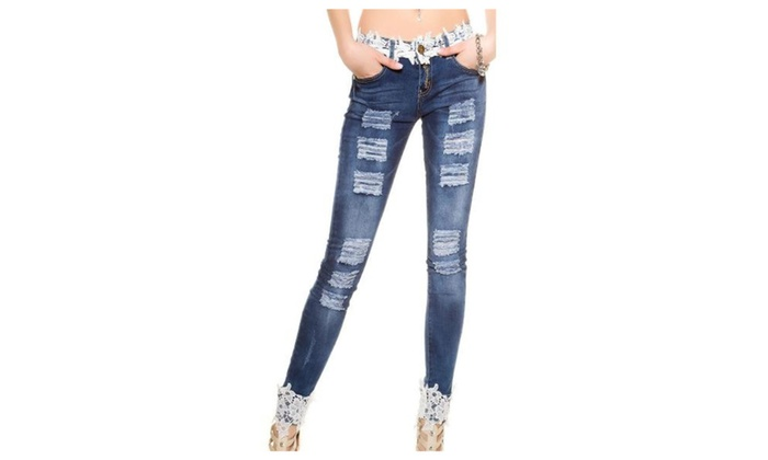Women's Solid Regular Fit Buttons Up Straight Leg Jeans