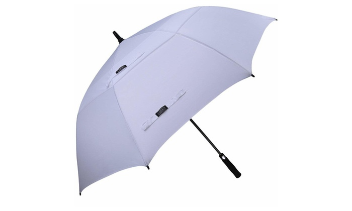 cffa2f53725f Automatic Open Golf Umbrella Extra Large Oversize Double Canopy ...