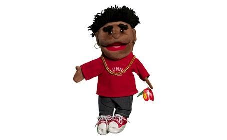 Sunny Toys GL1631 14 In. Ethnic Yarn-Haired Boy In Red, Glove Puppet 4fff9fb2-ee67-4285-aa94-75fcbbf9627d