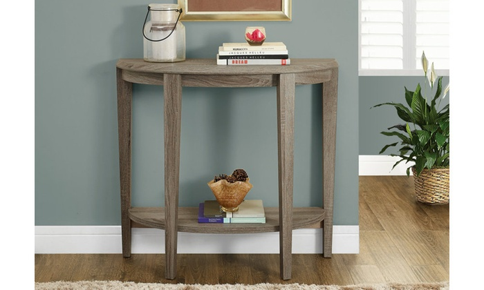 Foyer Table Macy S : Console transitional accent table groupon