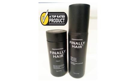 Hair Loss Concealer Kit - 28g Hair Fibers & Fiber Lock Spray 13ffe3b6-ff31-4079-b134-acbb92dc7c6a
