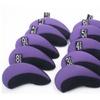 A99 Golf H09 II Iron Headcovers Purple Black