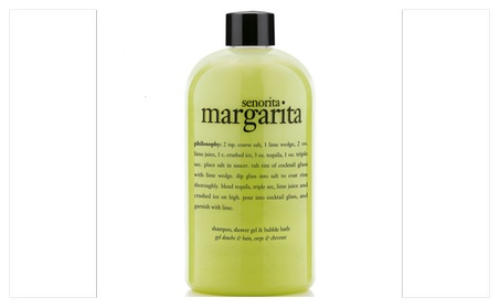 Senorita Margarita Shampoo, Shower Gel & Bubble Bath 16 oz. 7043cc31-114b-43b0-8260-583a716869ae