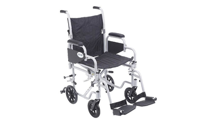 Poly Fly Light Weight Wheelchair With Swing Away Footrests