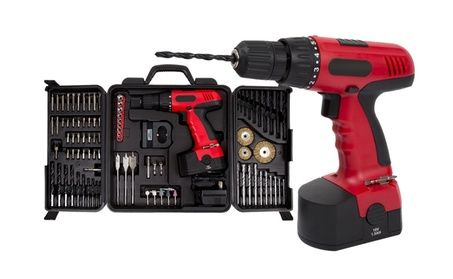 Stalwart 18V Cordless Drill Set (89-Piece) 322463ba-e811-4936-871b-2a81115500b7