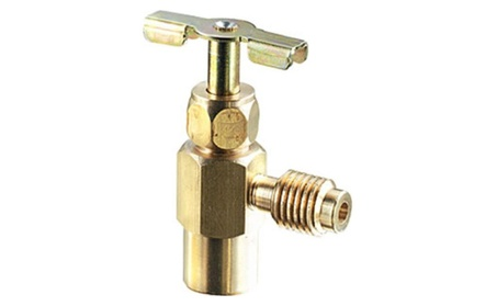 FJC FJC6030 R134A Can Tap - Brass Dispensing Valve 9c3665bc-0fef-4be4-a904-53b63ab6ccfa