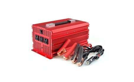 BESTEK 2000W Power Inverter 3 AC Outlets 12V DC to 110V AC Car Inverte photo
