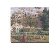 Camille Pissarro 'Vegetable Garden, Pontoise, 1879' Canvas Art